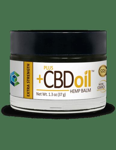 PlusCBD Oil CBD Balm (Ministry Of Hemp Official Valentines Day CBD Gift Guide)