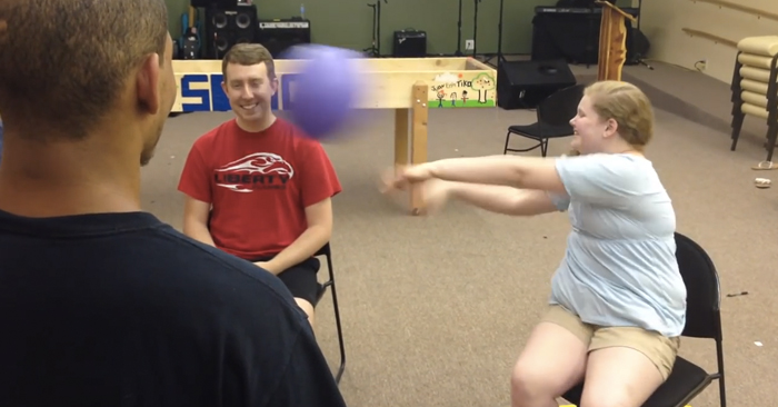 youth group game deathball
