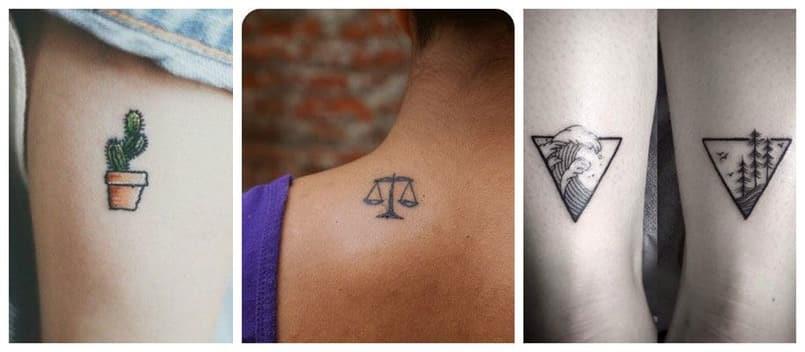 Tatuajes Pequeños Para Hombres Y Mujeres Mini Tatuajes
