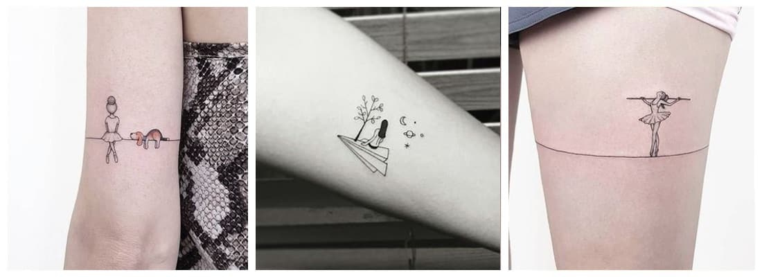 Tatuajes Para Mujeres Originales Y únicos Mini Tatuajes