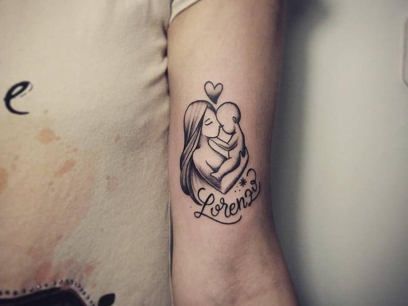 Un Tatuaje Especial Para Celebrar El Día De La Madre Mini Tatuajes