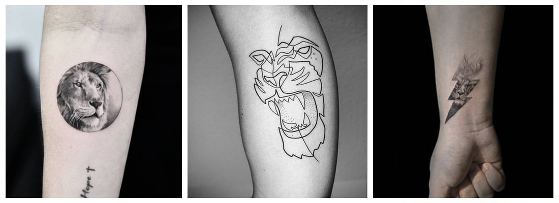 Tatuajes De Leones Todo Un Símbolo De Familia Y Lealtad Mini Tatuajes