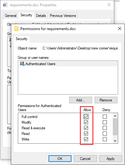 Cara Mengatasi Word Cannot Complete The Save Due To A File Permission Error : mengatasi, cannot, complete, permission, error, Access, Privileges?