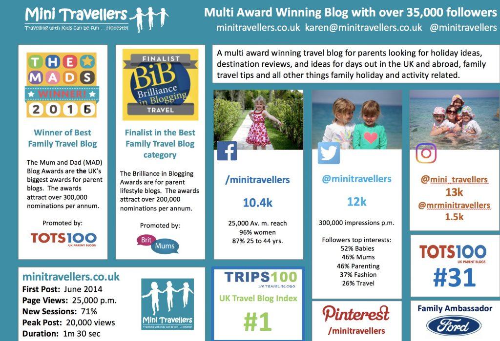 Mini Travellers Press Pack www.minitravellers.co.uk