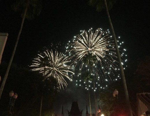 Symphony in the Stars and Illuminations at Hollywood Studios and Epcot at Walt Disney World