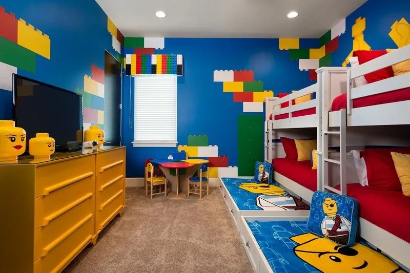 Lego Bedroom Ideas Uk orlando villas for lovers of star wars, lego, harry potter and