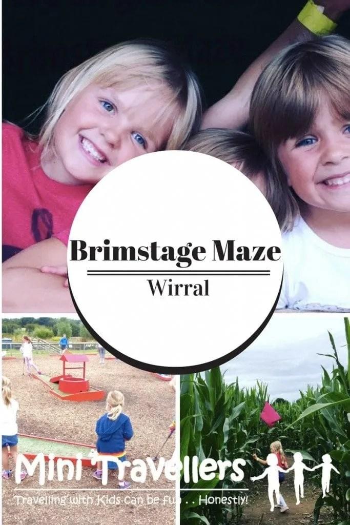Brimstage Maze Wirral