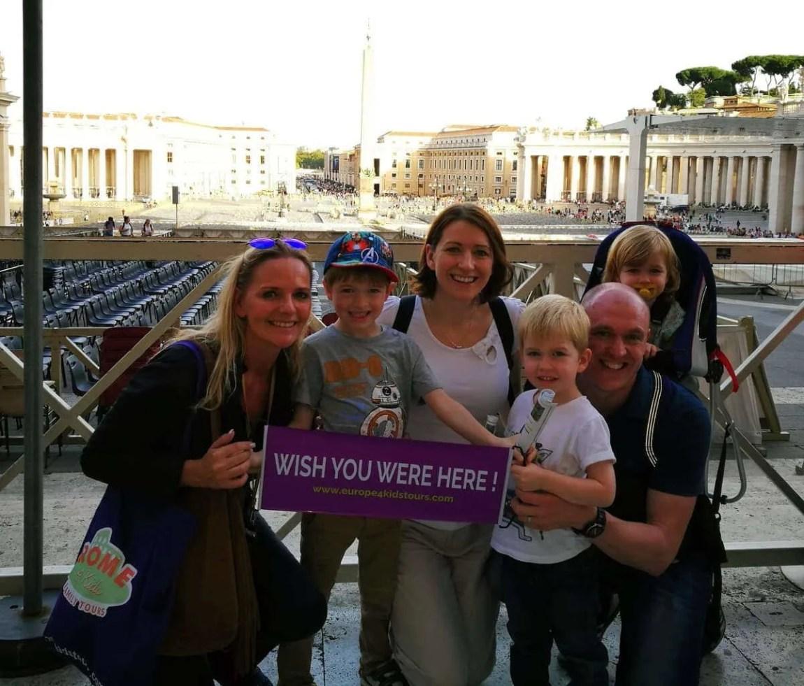 Rome4Kids Vatican Tour www.minitravellers.co.uk