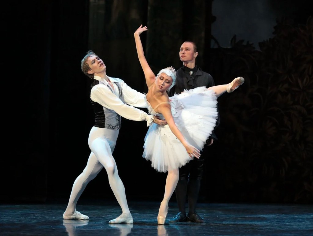 SWAN LAKE ON STAGE AT THE STOCKPORT PLAZA
