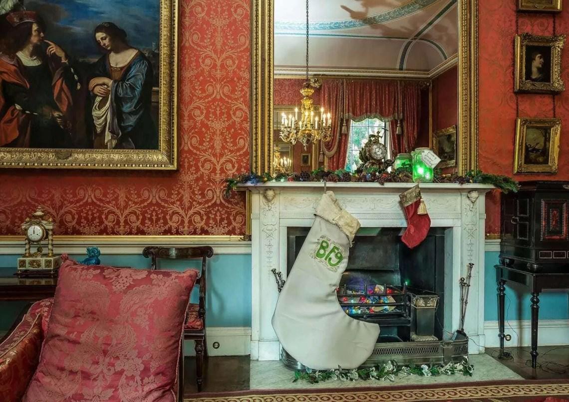 Tatton Park's Christmas Gloriumptious Mansion www.minitravellers.co.uk
