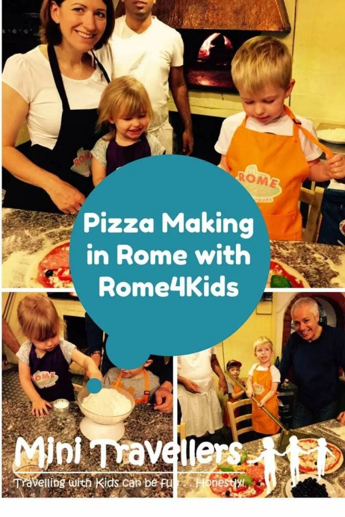 Pizza Making in Rome with Rome4Kids www.minitravellers.co.uk