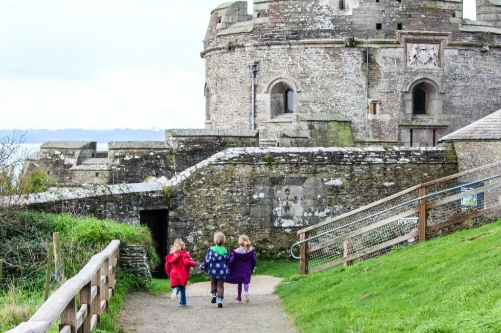 St Mawes Castle Cornwall with kids www.minitravellers.co.uk