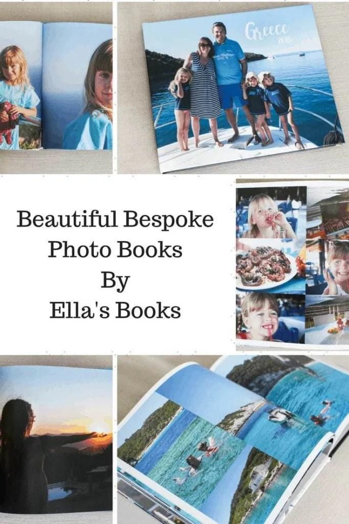 Review: Bespoke Photo Books by Ella's Books www.minitravellers.co.uk