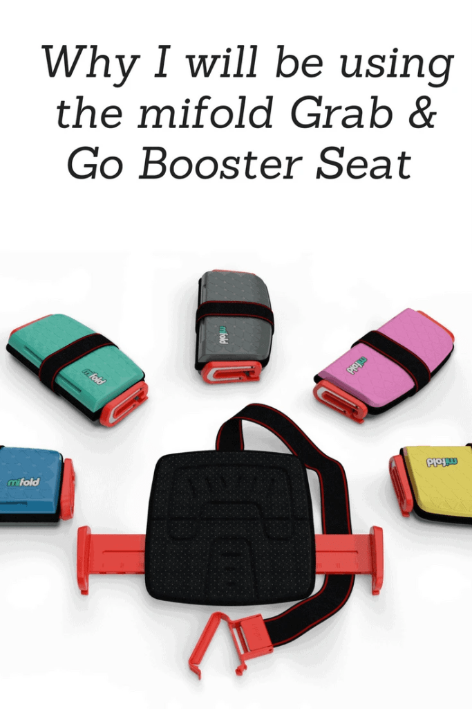 Why I will be using the mifold grab & go booster seat www.minitravellers.co.uk