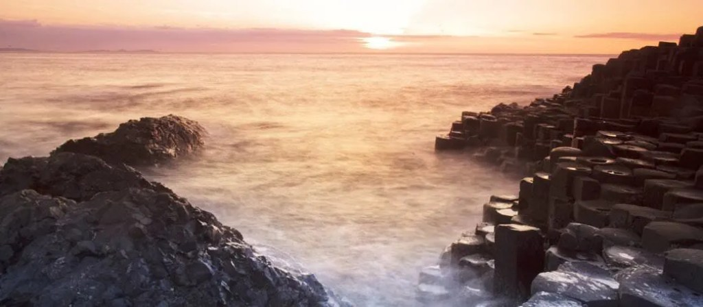The famous Giants Causeway, an amazing National Trust estate to visit with kids in Northern Ireland