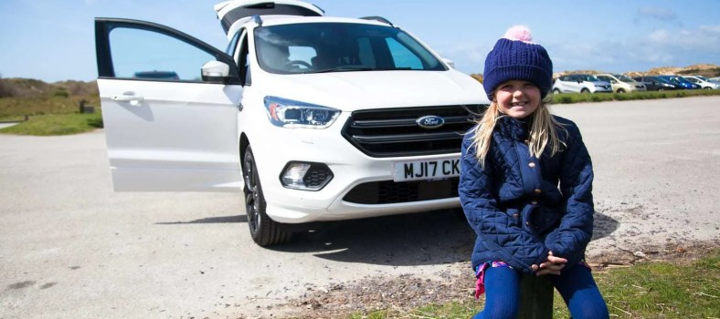 Family Day Out with the Ford Kuga from Peoples Ford www.minitravellers.co.uk