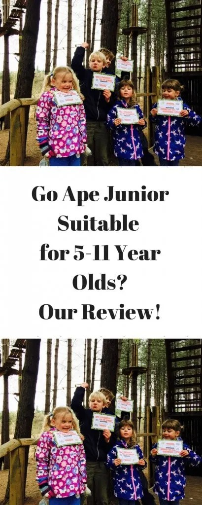 Go Ape Junior Tree Top Adventure www.minitravellers.co.uk