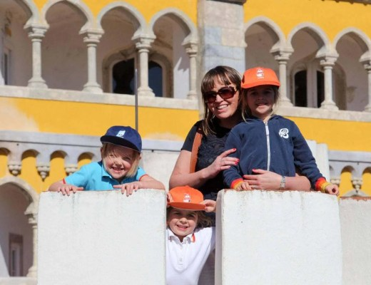 The Pena Palace, Sintra with Kids - A Fairytale Destination www.minitravellers.co.uk