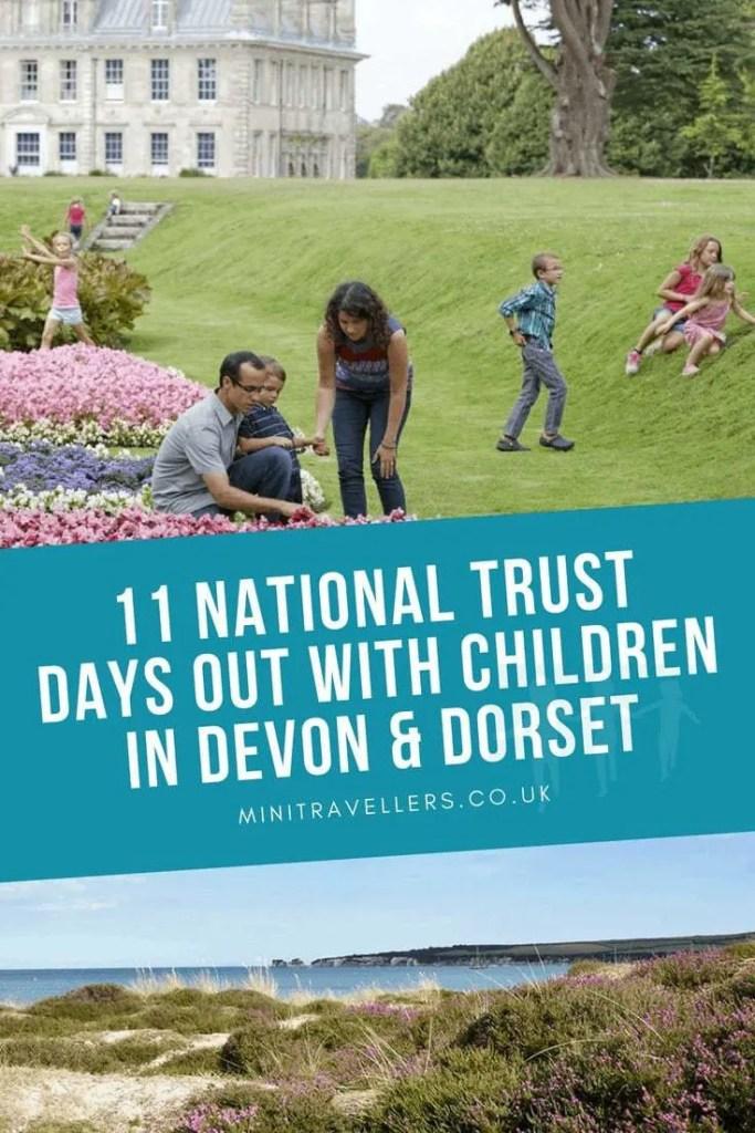 11 National Trust Days Out With Children In Devon & Dorset
