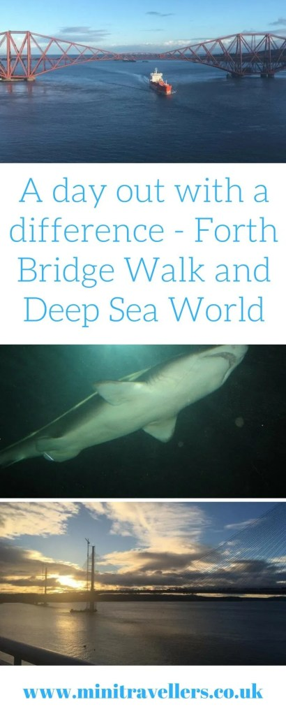 Are you looking for a different kind of day out? Something the whole family will enjoy? Visit Forth Bridge Walk and Deep Sea World