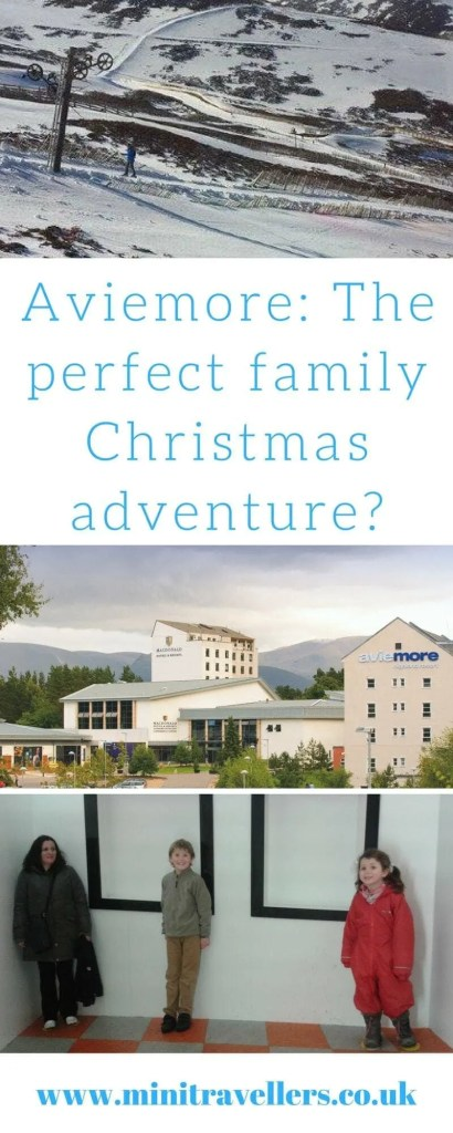 Aviemore at Christmas: The perfect family Christmas adventure? Find out what one family thought of their trip to Aviemore at Christmas at Mini Travellers #familytravel #Christmas #Aviemore