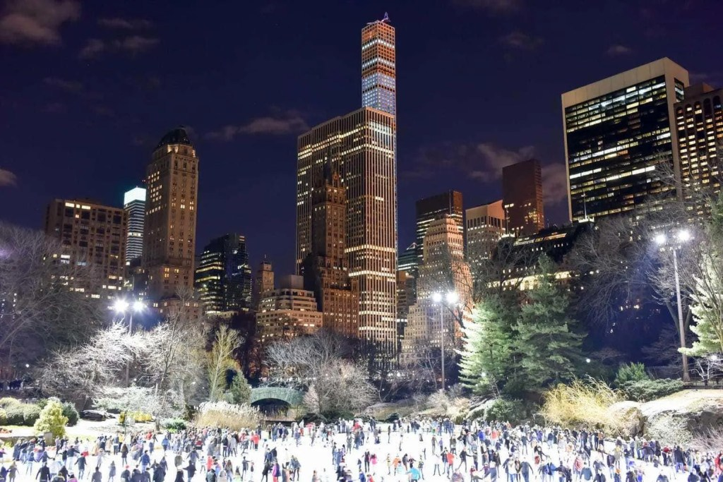 Try something new for your next Winter family holiday and visit New York, shown here at Christmas time