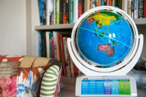 Smart globe - as featured in my Christmas gift guide featuring gifts for travel lovers