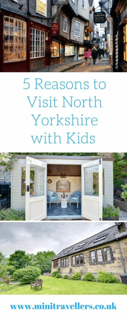 5 Things to do in North Yorkshire www.minitravellers.co.uk