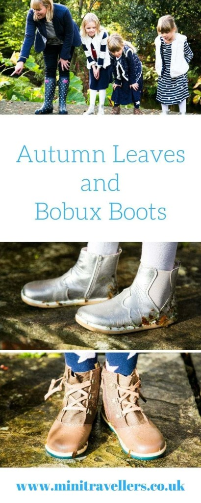 Autumn Leaves and Bobux Boots