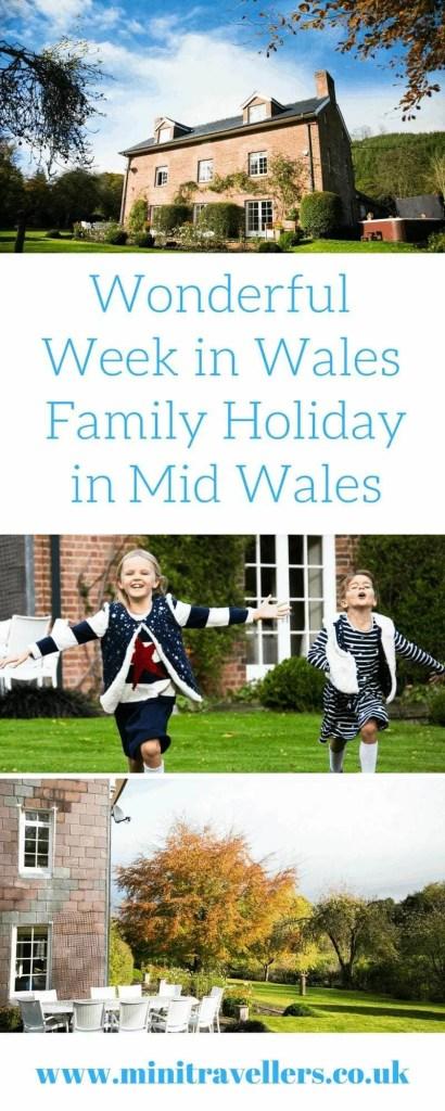 Wonderful Week in Wales - Family Holiday in Mid Wales www.minitravellers.co.uk