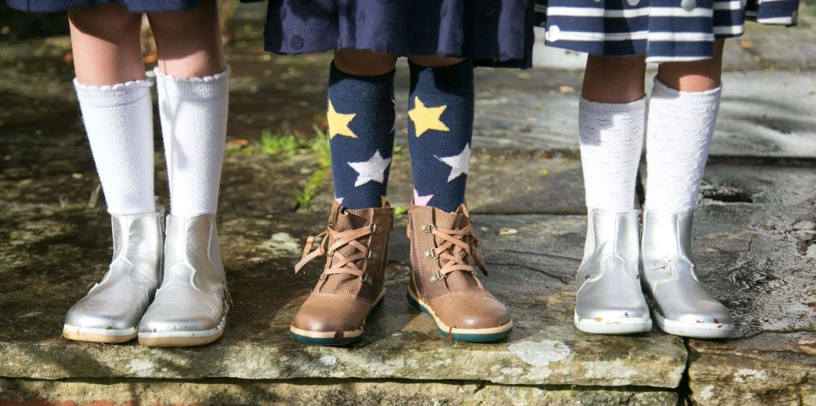 Autumn Leaves and Bobux Boots www.minitravellers.co.uk