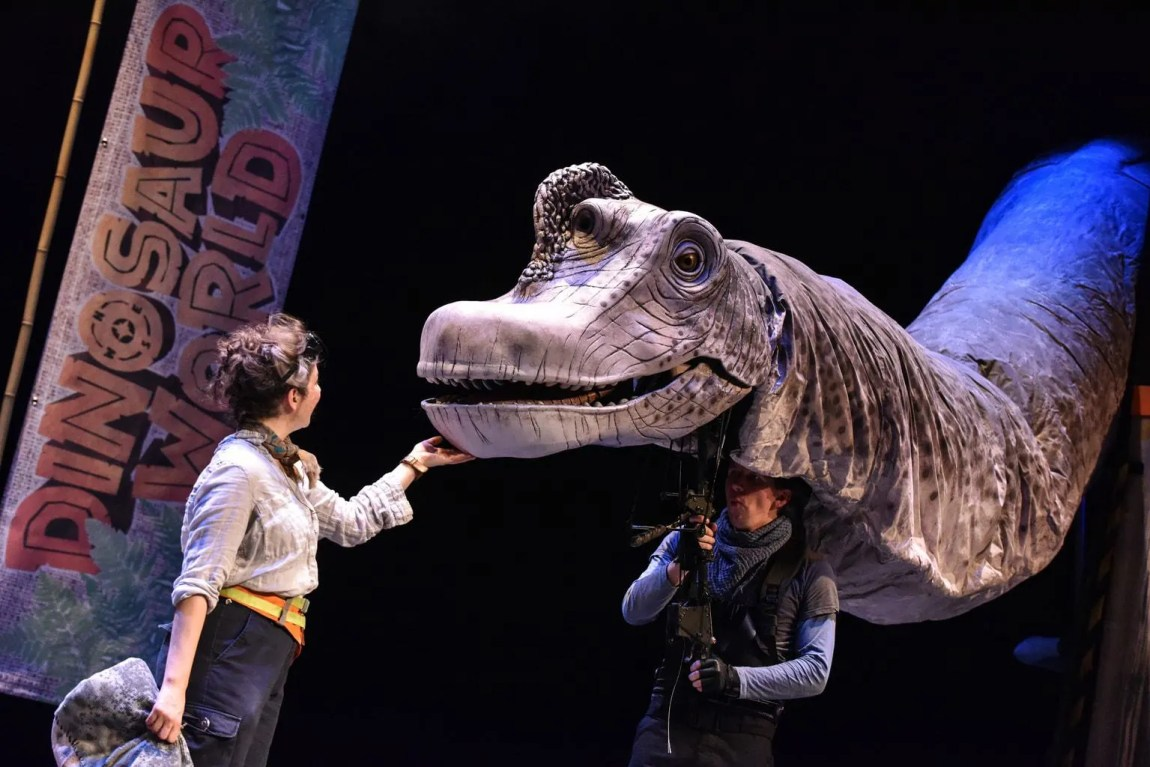 Review | Dinosaur World Live at The Storyhouse, Chester - 'Live' Dinosaurs in Chester!