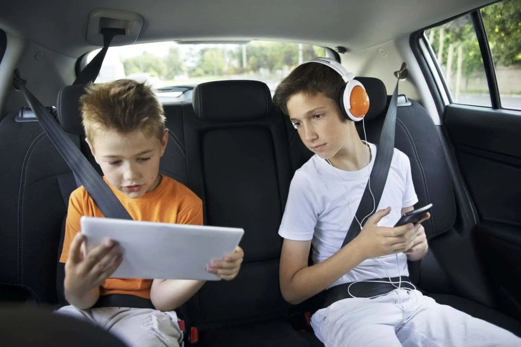 Top tech to keep the kids entertained when travelling, including tablets and headphones