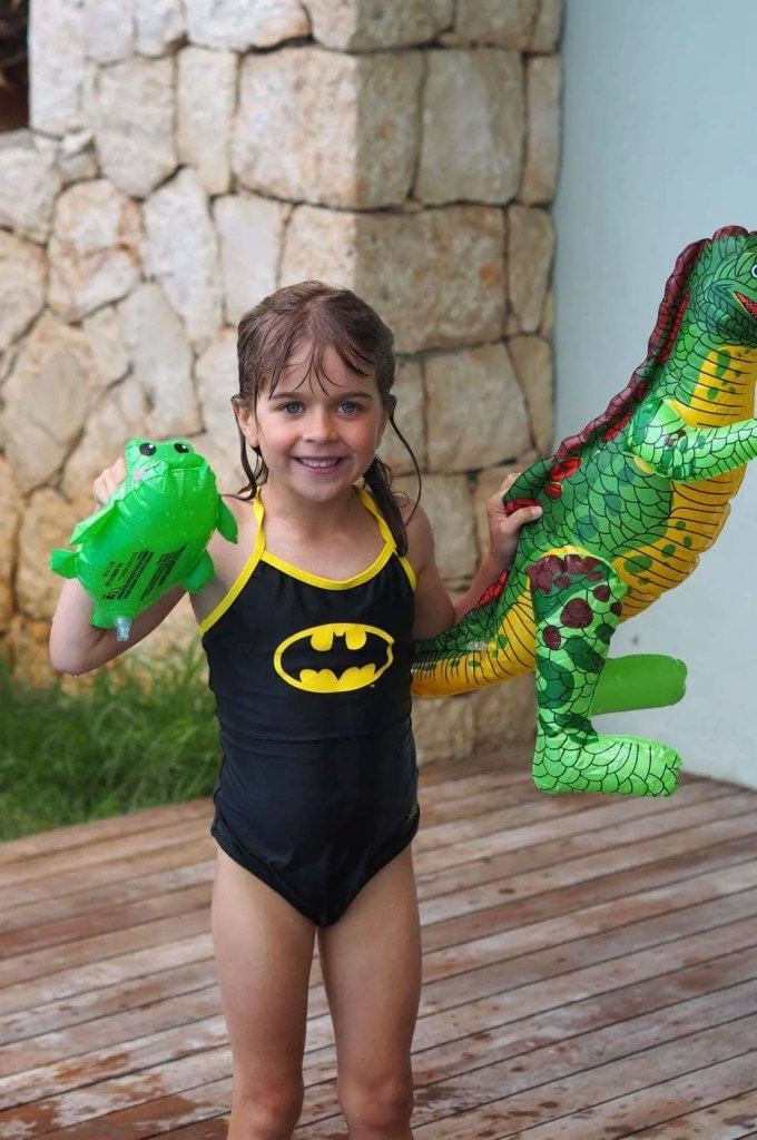 DC Super Heroes Swimwear from Zoggs, featuring the batman swimsuit