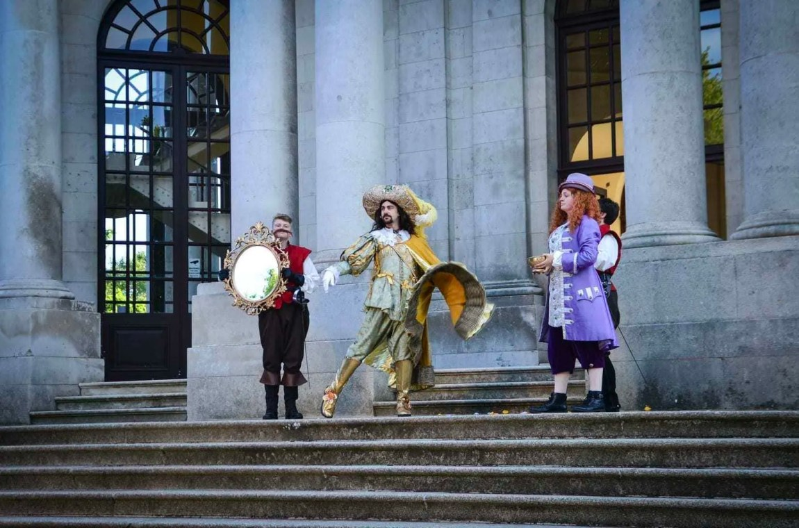 The Three Musketeers Walkabout Theatre | The Dukes Play at Williamson Park