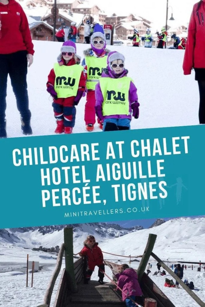 Childcare At Chalet Hotel Aiguille Percee Tignes
