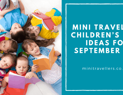 Mini Travellers Children's Book Ideas for September 2018