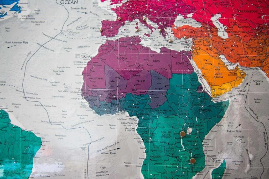 Review | The Future Mapping Company Magnetic Map