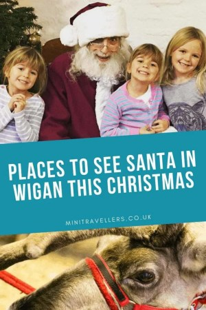 Where to see Santa in Wigan this Christmas