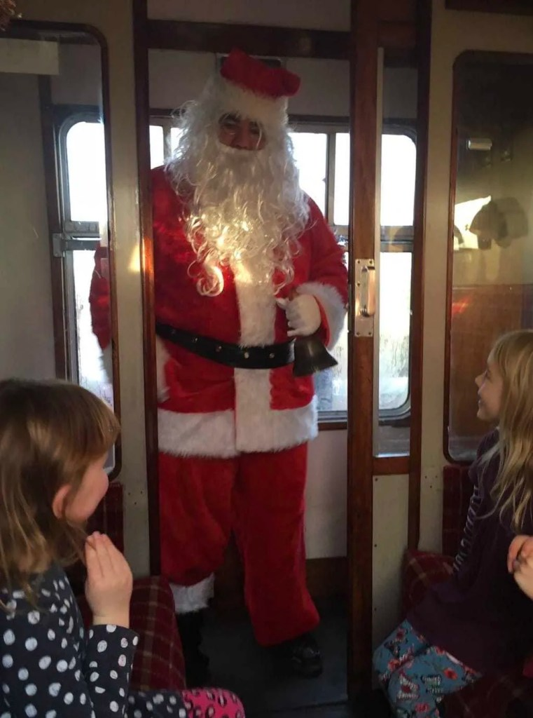 Places to see Santa at Christmas in Scotland