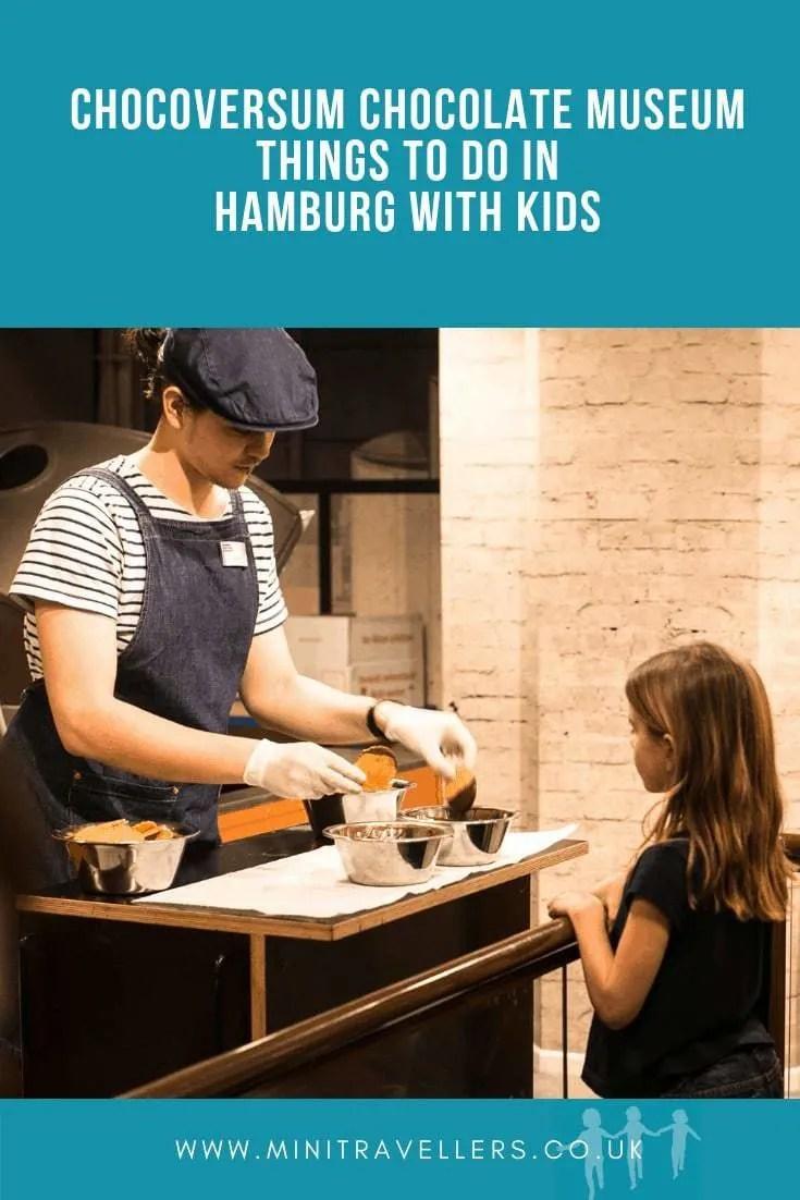 Chocoversum Chocolate Museum | Things to do in Hamburg with Kids