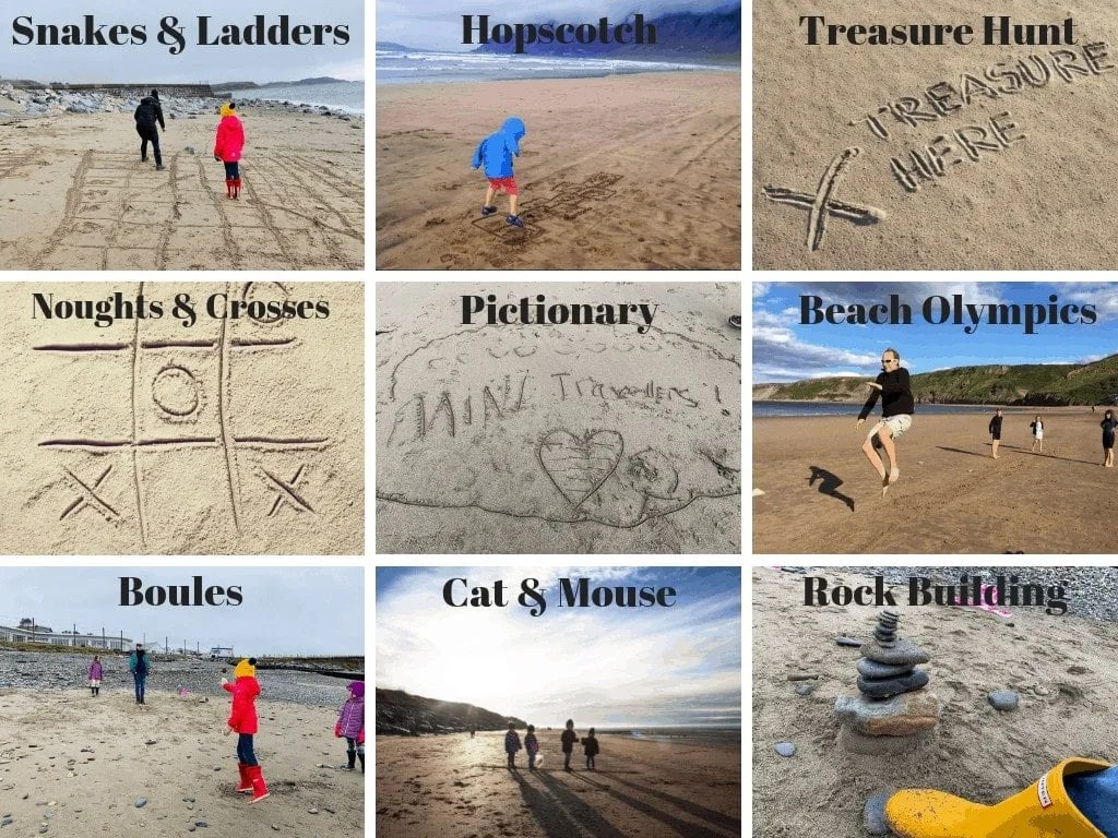 Free Beach Games www.minitravellers.co.uk