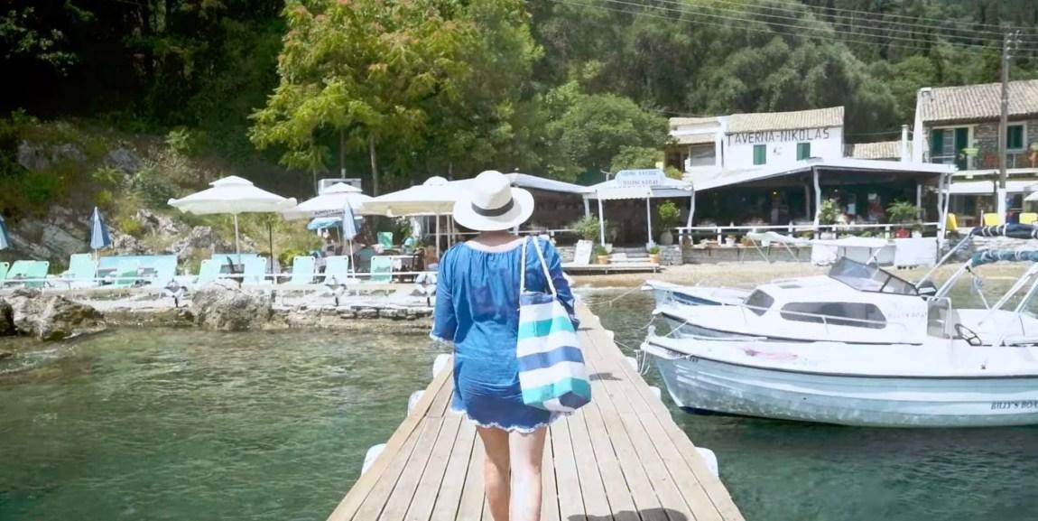 Boat Trip from Avlaki Beach