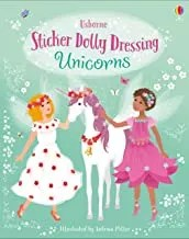Sticker Dolly Dressing Unicorns illustrated by Antonia Miller (Usborne)