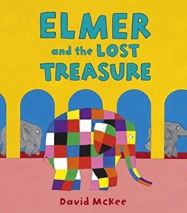 Elmer and the Lost Treasure by David McKee (Andersen Press)