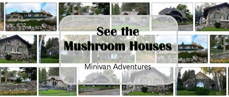Learn about the many distinctive features of the Charlevoix Mushroom Houses.