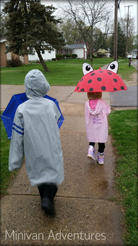 "I am raising a new generation of rain lovers. I share my love for wet weather by taking my little ones on ""rain walks."""