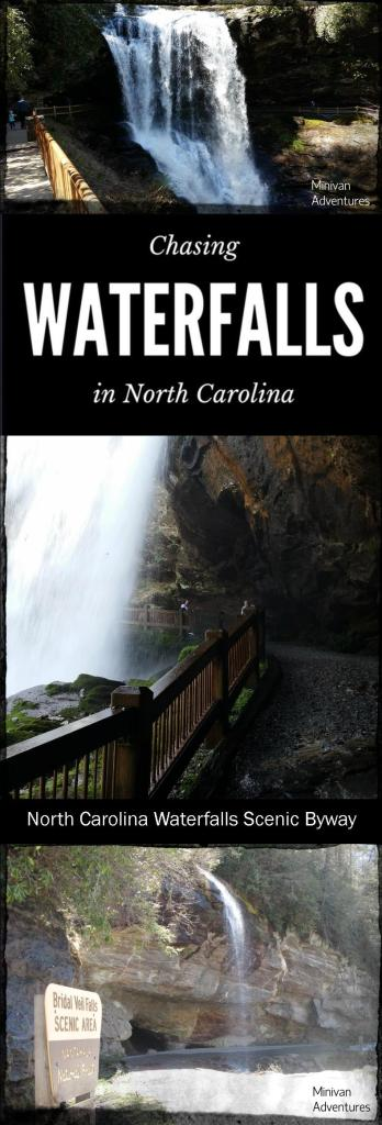 North Carolina Waterfalls Scenic Byway - Walk behind a waterfall, drive beneath a waterfall, drive over a waterfall, slide down a waterfall! Your entire family will enjoy chasing waterfalls in the mountains of North Carolina! / Callasaja Falls / Bust Your Butt Falls / Bridal Veil Falls / Dry Falls / Whiteside Mountain / Cashiers / Highlands / Gorges State Park / Panthertown Valley / Silver Run Falls / Whitewater Falls / Toxaway Falls / Dupont State Forest / Hendersonville / NC Scenic Byways