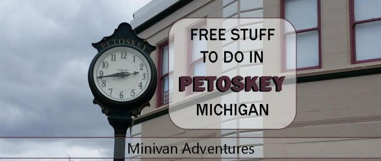 Planning a visit to the northern Michigan town of Petoskey? Check out these free (or low cost) things to do while you are in the area.