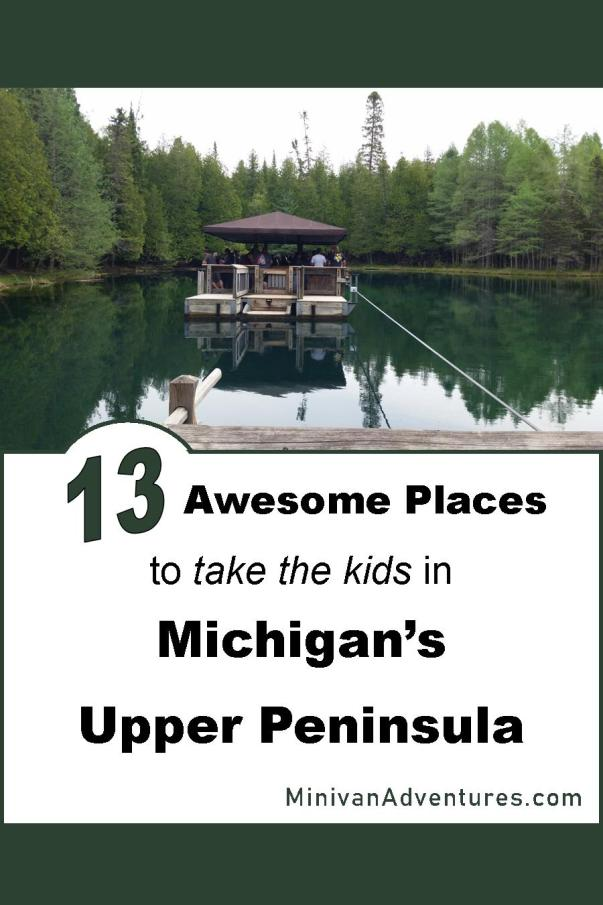 FAMILY-FRIENDLY STOPS IN MICHIGAN'S UPPER PENINSULA! Check out these 13 awesome places to take the kids in the Upper Peninsula of Michigan. #Michigan #UpperPeninsula #FamilyVacation